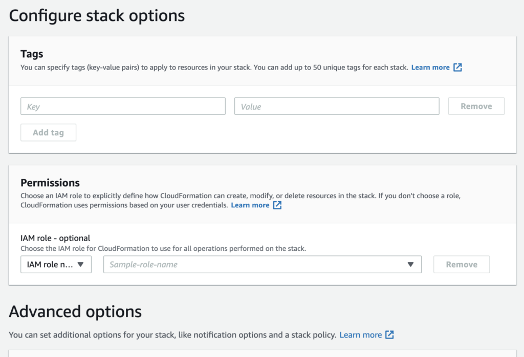 Customize stack options YugabyteDB distributed sql database using AWS CloudFormation How To